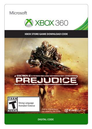 Xbox 360 Section 8: Prejudice [Download]