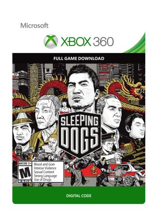 Xbox 360 Sleeping Dogs [Download]