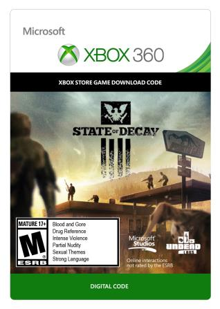 Xbox 360 State of Decay [Download]