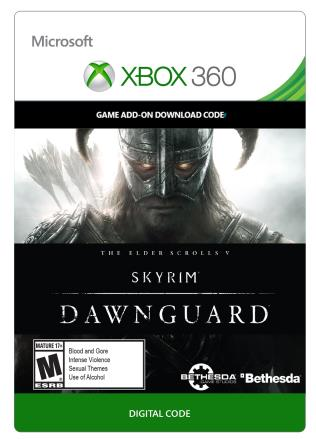 Xbox 360 The Elder Scrolls V: Skyrim: Dawnguard  [Download]
