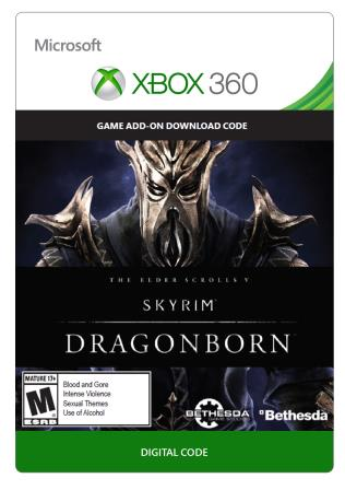 Xbox 360 The Elder Scrolls V: Skyrim: Dragonborn [Download]