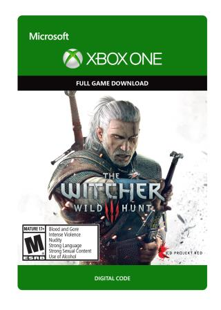 Xbox One The Witcher 3: Wild Hunt [Download]
