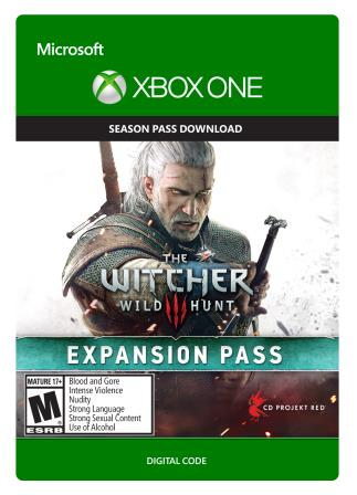 Xbox One The Witcher 3: Wild Hunt Expansion Pass [Download]