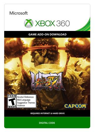 Xbox 360 Ultra Street Fighter IV Upgrade [Download]