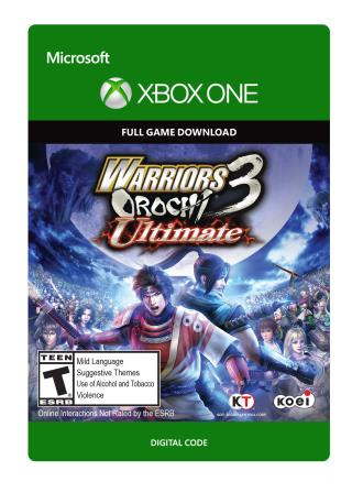 Xbox One Warriors Orochi 3 Ultimate [Download]