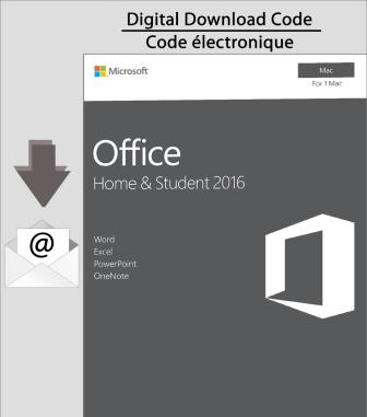 Microsoft Office Home & Student 2016 for Mac [Download]