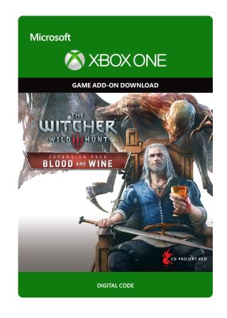 Xbox One The Witcher 3: Wild Hunt - Blood and Wine [Download]