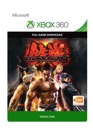 Xbox 360 Tekken 6 [Download]