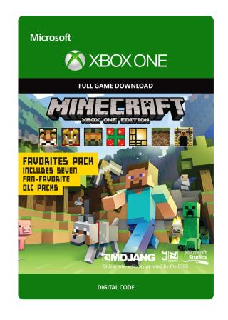 Xbox One Minecraft: Xbox One Edition Favorites Pack [Download]