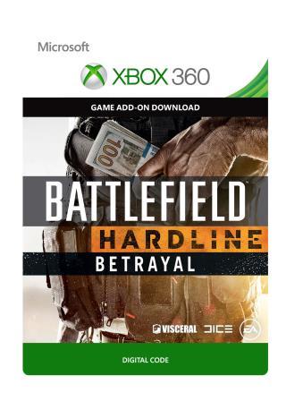 Xbox 360 Battlefield: Hardline Betrayal [Download]