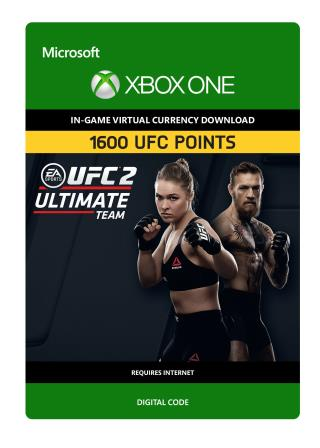 Xbox One UFC 2: 1600 UFC Points [Download]