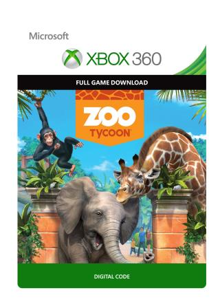 Xbox 360 Zoo Tycoon [Download]
