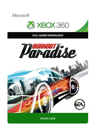 Xbox 360 Burnout Paradise [Download]