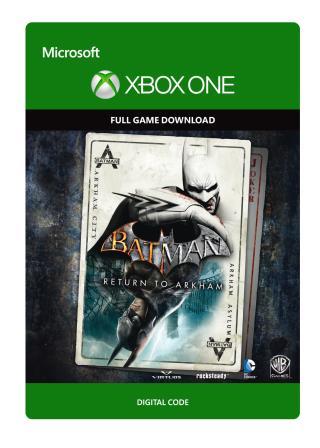 Xbox One Batman: Return to Arkham [Download]