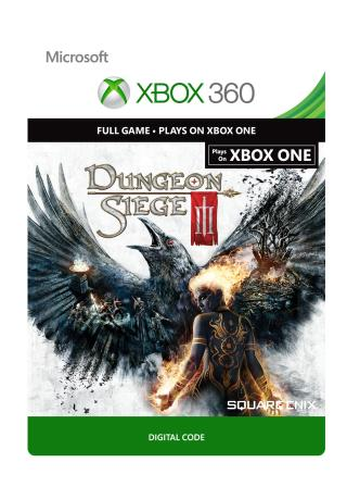Xbox 360 Dungeon Siege III [Download]