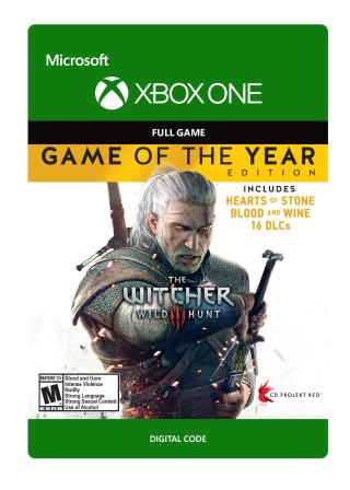 Xbox One The Witcher 3: Wild Hunt - Game of The Year [Download]
