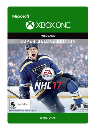 Xbox One NHL 17: Super Deluxe Edition [Download]
