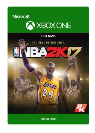 Xbox One NBA 2K17: Legend Edition Gold [Download]