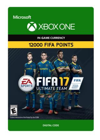 Xbox One FIFA 17 Ultimate Team FIFA Points 12000 [Download]