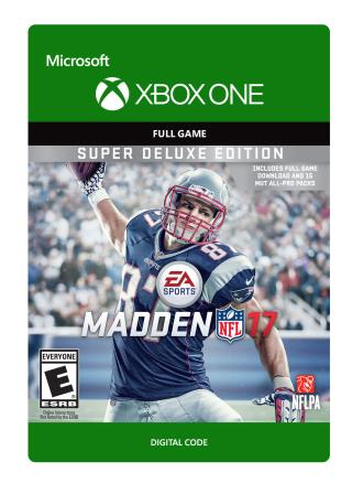 Xbox One Madden NFL 17: Super Deluxe Edition [Download]