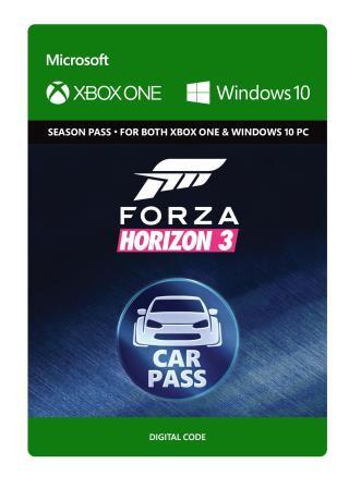 Xbox One Forza Horizon 3 Car Pass [Download]