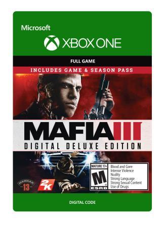 Xbox One Mafia III: Digital Deluxe [Download]