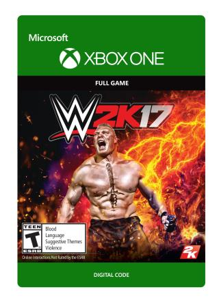 Xbox One WWE 2K17 [Download]