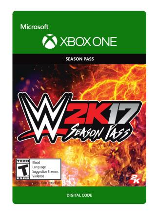 Xbox One WWE 2K17: Season Pass [Download]