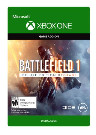 Xbox One Battlefield 1: Deluxe Upgrade & Hellfighter Pack Bundle [Download]
