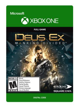 Xbox One Deus Ex Mankind Divided: Standard Edition [Download]