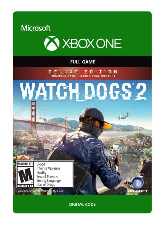 Xbox One Watch Dogs 2 Deluxe [Download]