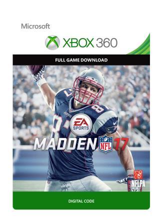 Xbox 360 Madden NFL 17 [Download]