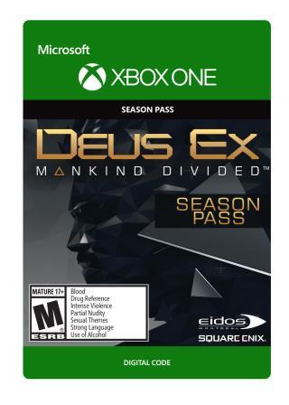 Xbox One Deus Ex Mankind Divided Season Pass [Download]