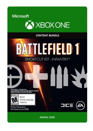 Xbox One Battlefield 1: Shortcut Kit: Infantry Bundle [Download]