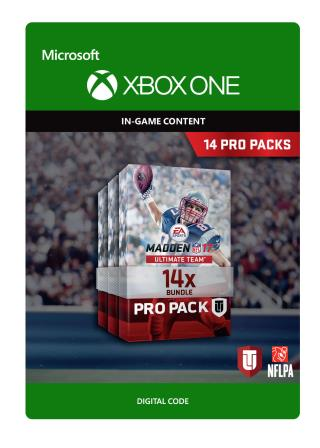Xbox One Madden NFL 17: 14 Pro Pack Bundle [Download]