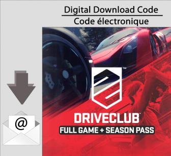 PS4 Driveclub Full Game & Season Pass Bundle [Download]